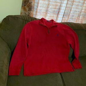 Polo Ralph Lauren 1/4 Sweater, Men's Large (Used)